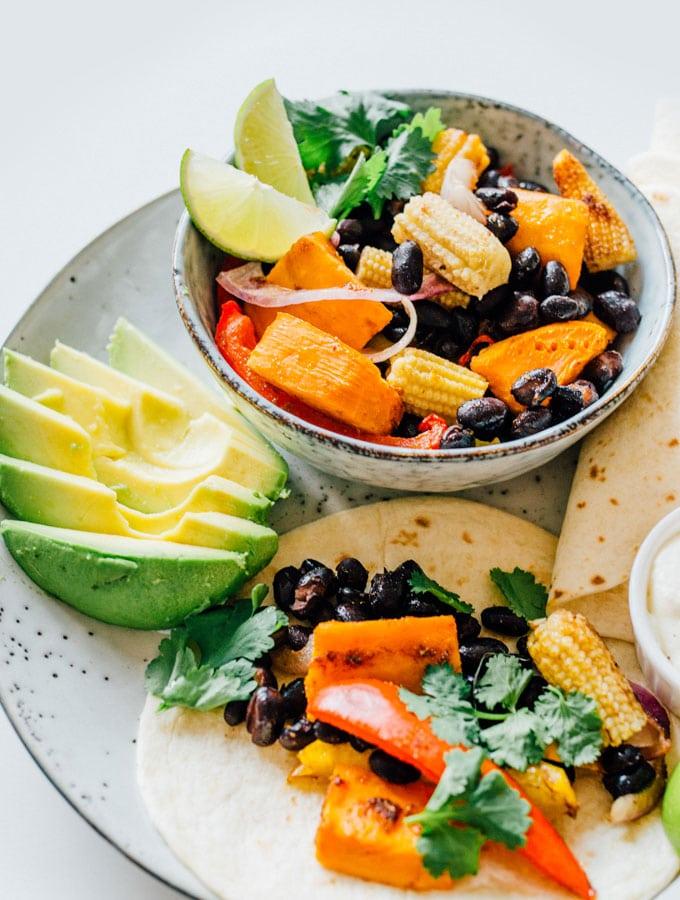 14. Mexican Sheet Pan Supper