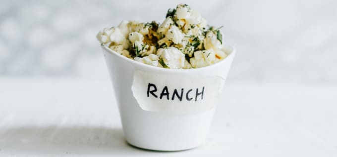 Making homemade popcorn seasoning is so much easier than you would think. Today I'm showing you how to make 7 of my favorite flavors, from herby ranch to gingerbread!