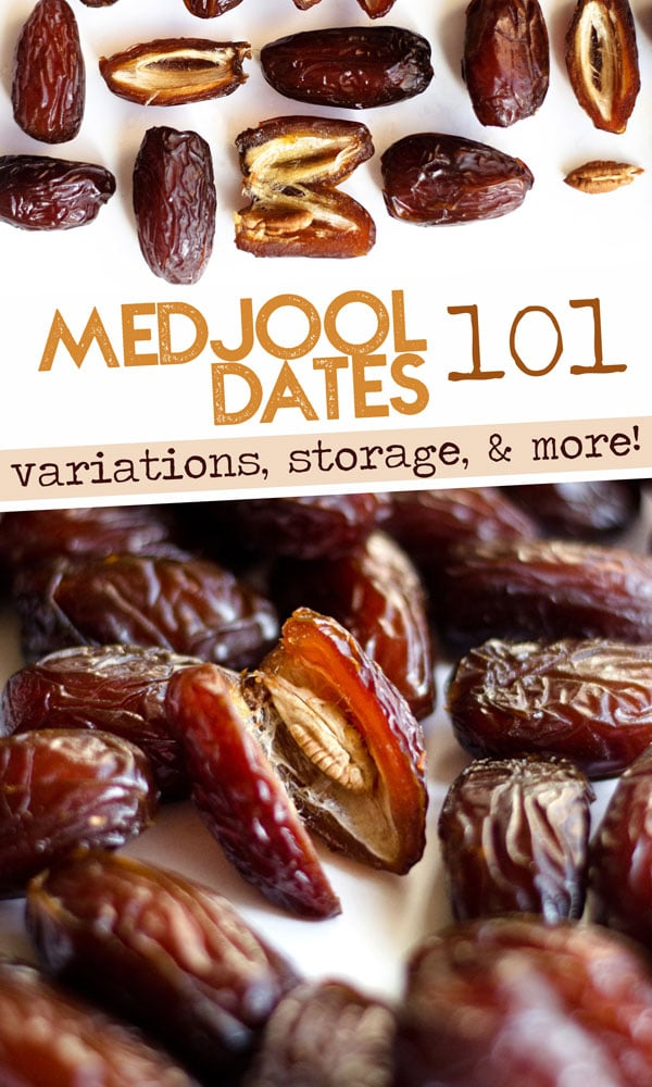 Everything you need to know about the delicious Middle Eastern fruit...dates! From the different varieties to storage tips to nutritional information. #medjooldates #sugarfreerecipes #sweettooth