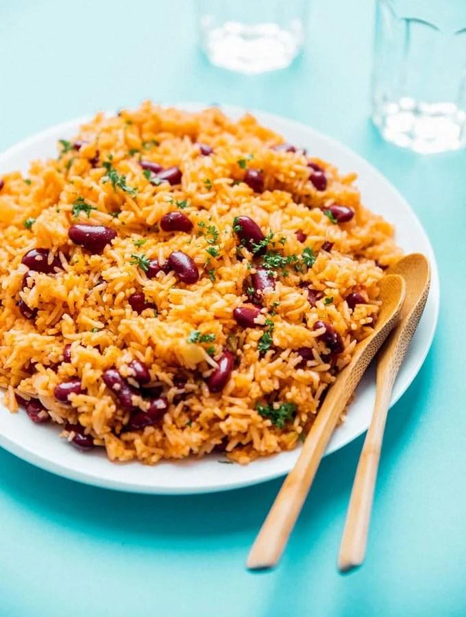 6. Spanish Rice and Beans