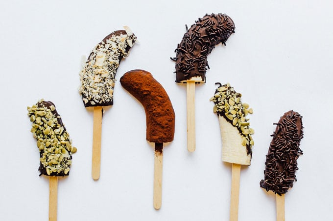 Popsicles on white background - With innovative and undeniably refreshing recipes for the whole family, For The Love OF Popsicles cookbook is your one-stop-shop for modern, unique pops from A to Z.