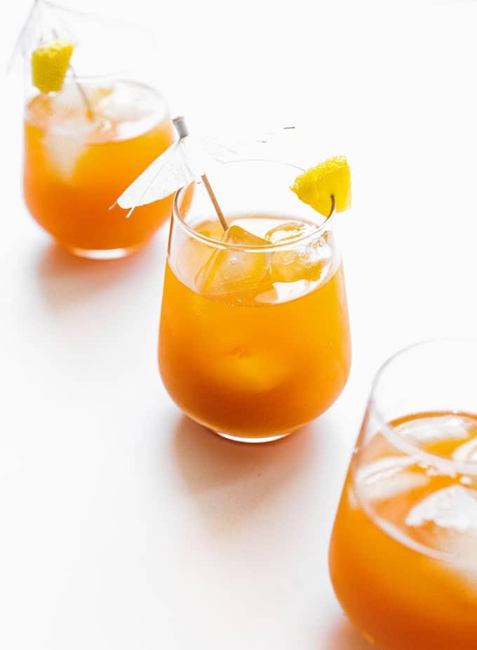 11. Pineapple Basil Kombucha