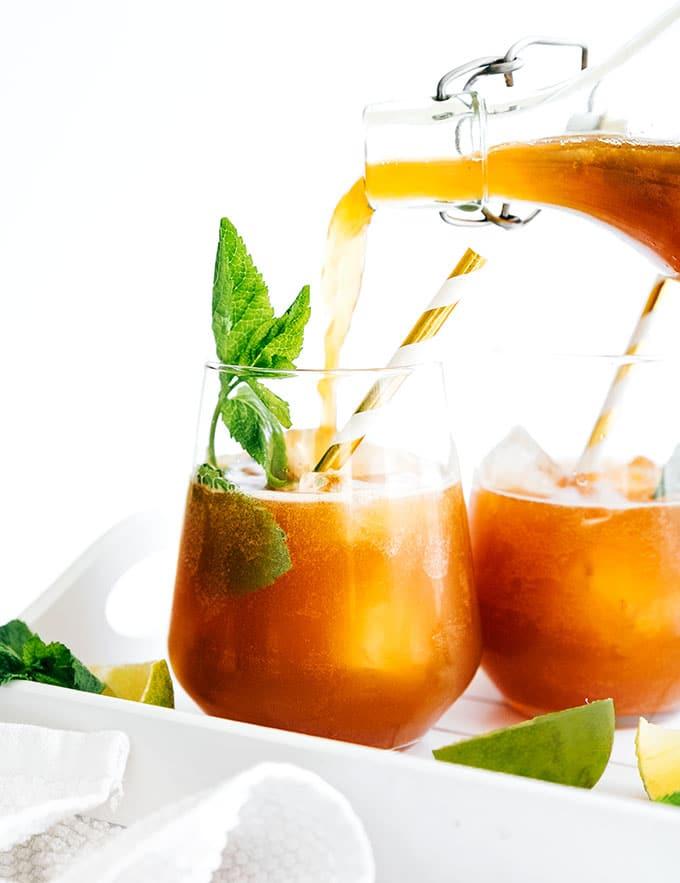 5. Mint Lime Mojito Kombucha