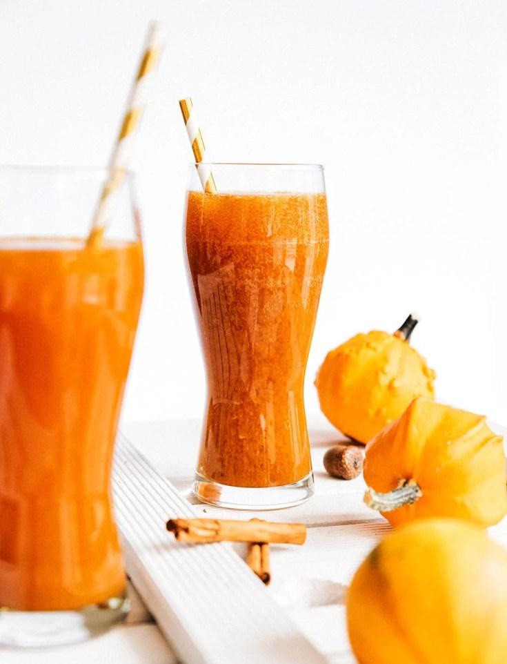 6. Pumpkin Spice Kombucha