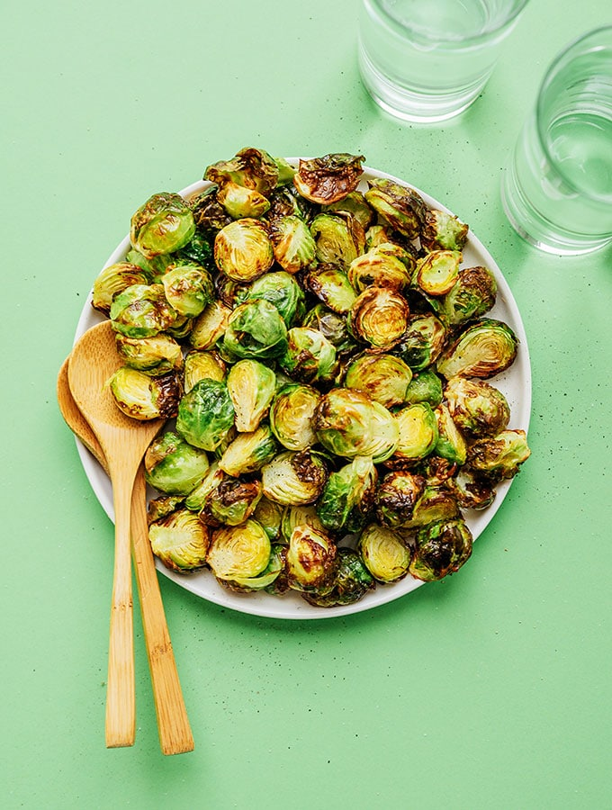 2. Air Fryer Brussels Sprouts
