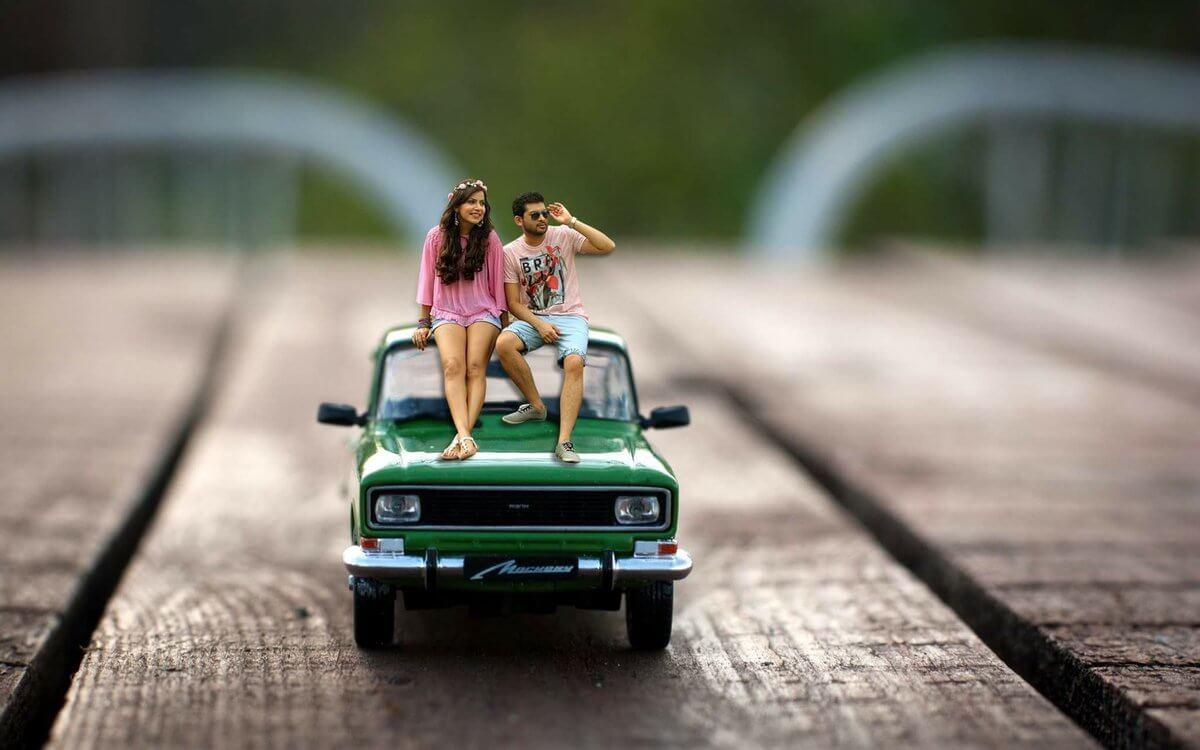 40 Miniature Photography Ideas For Pre Wedding Photos