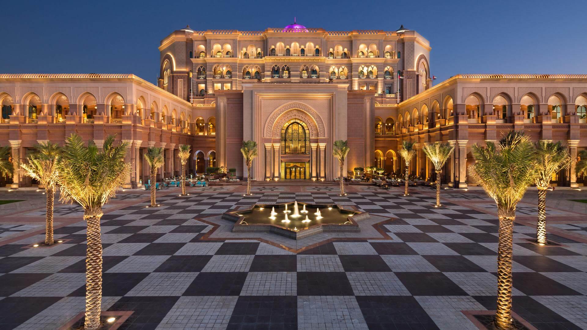 Presidential Palace Abu Dhabi Uae
