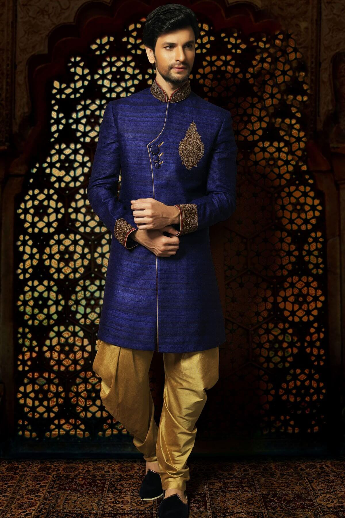 Latest 2018 Indo Western Dresses For Groom Live Enhanced