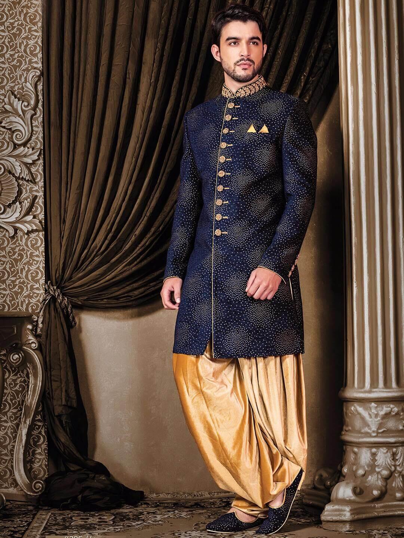 Latest 2018 Indo Western Dresses For Groom Live Enhanced