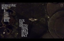 "Watch: Hieroglyphic Being & J.I.T.U. Ahn Sahm Buhl ""F**k The Ghetto / Think About Outer Space"""