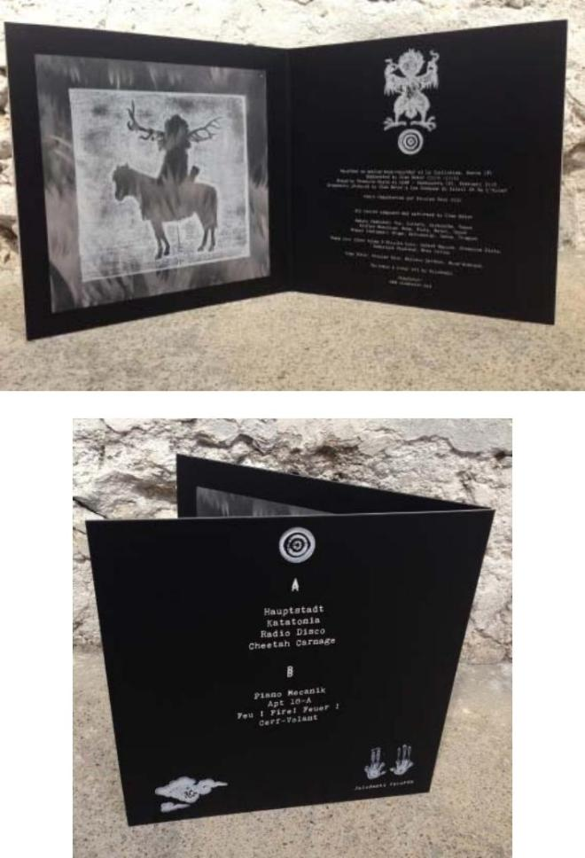 Ulan Bator 'Ulan Bator' LP (Jelodanti Records)