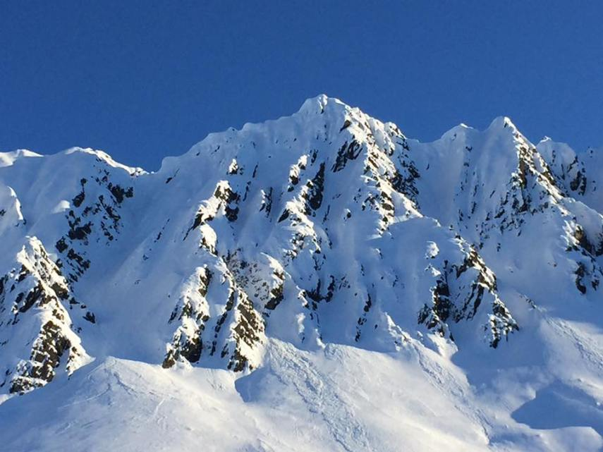 The Library, Turnagain Pass, AK. Chose your line, like your purchases, carefully.