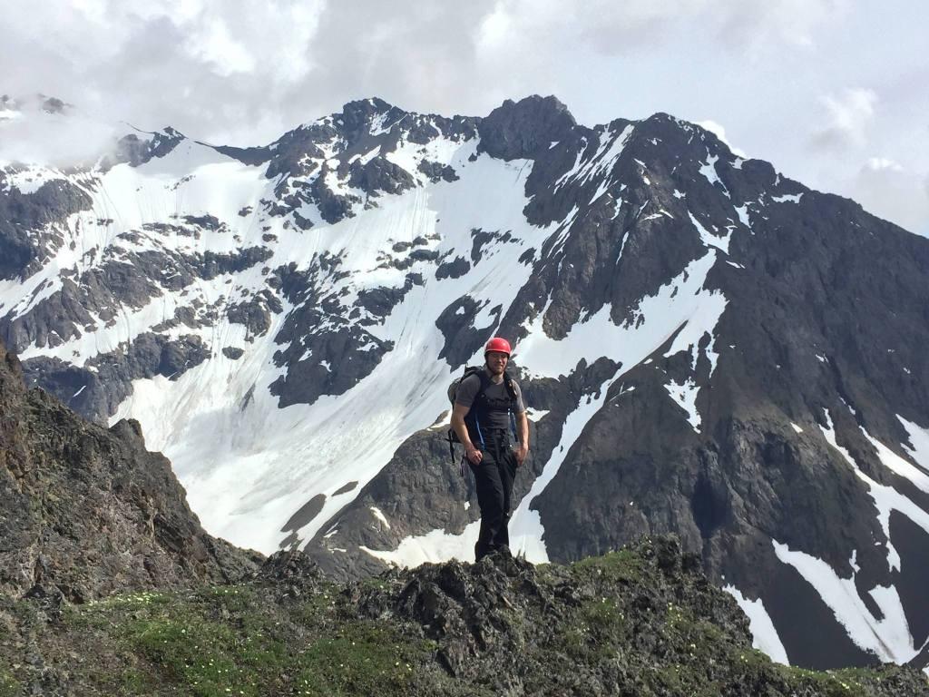 En Route to Cantata Peak, Chugach Range, Alaska