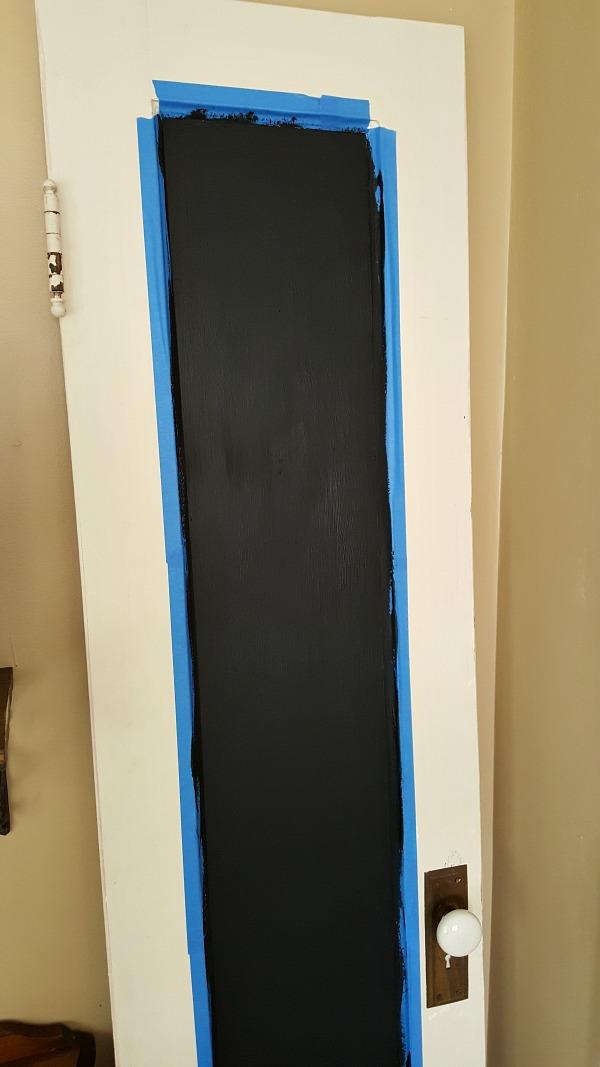magnetic chalkboard door
