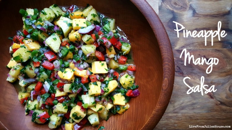 Pineapple Mango Salsa - Want to add a fresh and fruity twist to Taco Night? Try my Pineapple Mango Salsa - it's the perfect blend of Southwestern heat and fruity sweetness.