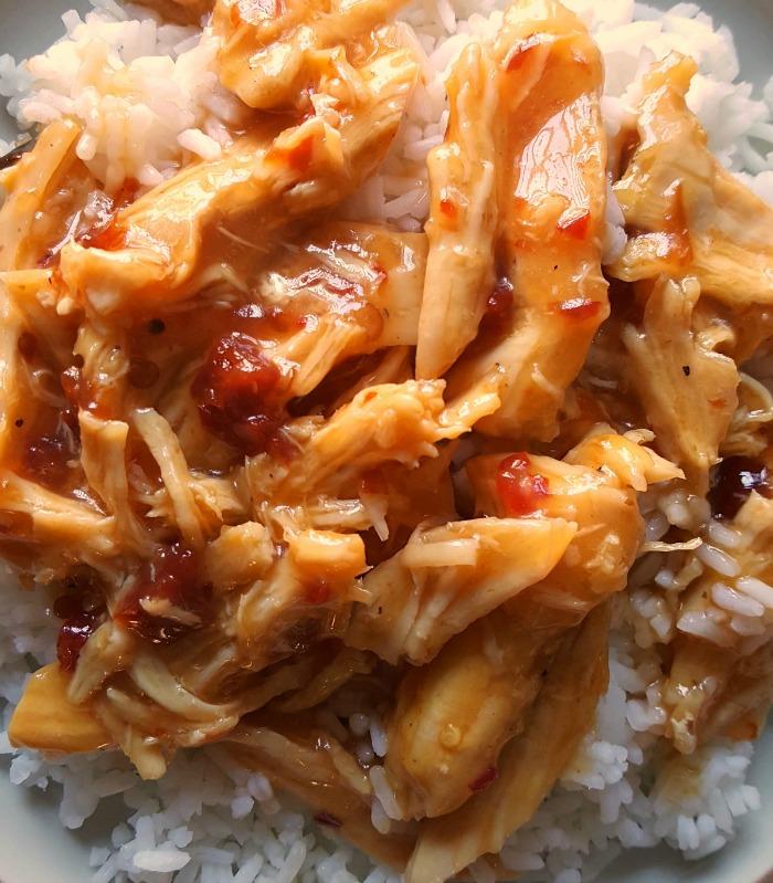 Sweet chili Orange Chicken & Ric