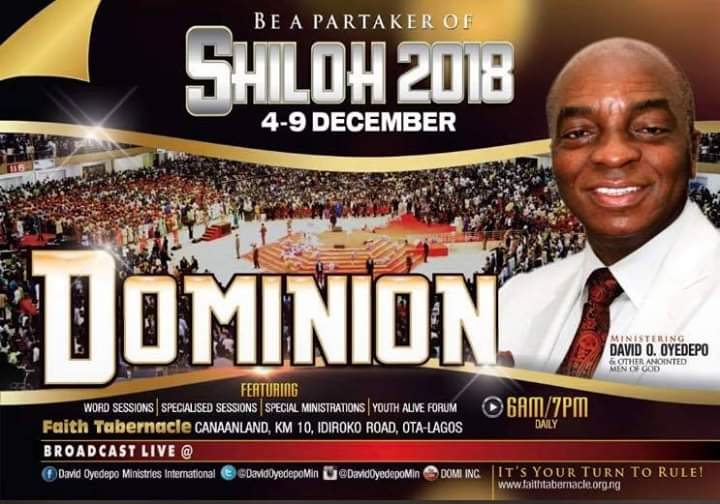 Shiloh 2018 live streaming
