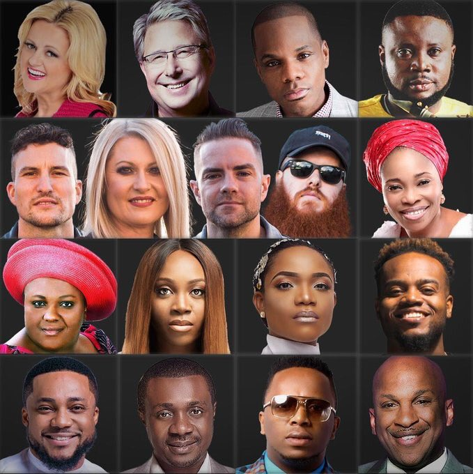 The experience 2018 artiste