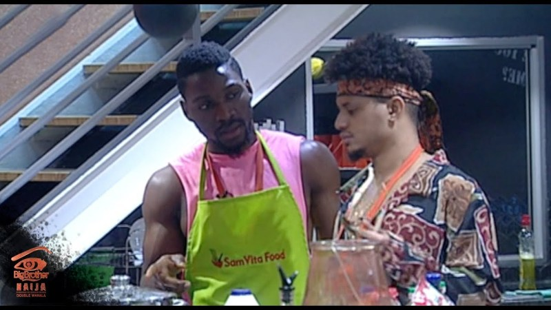 BBNaija 2018 – Day 69 highlights: Man in the kitchen