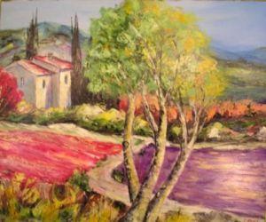 Peinture coquelicot sur LiveGalerie