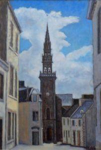 Peinture Eglise Sur LiveGalerie