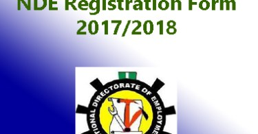 nde registration form