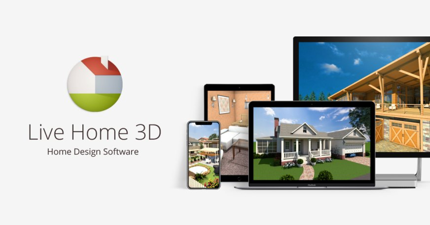 Live Home 3D — Home Design Software for Windows, iOS and macOS