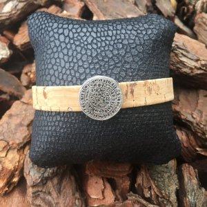 Armband in kurkleer Phaistos