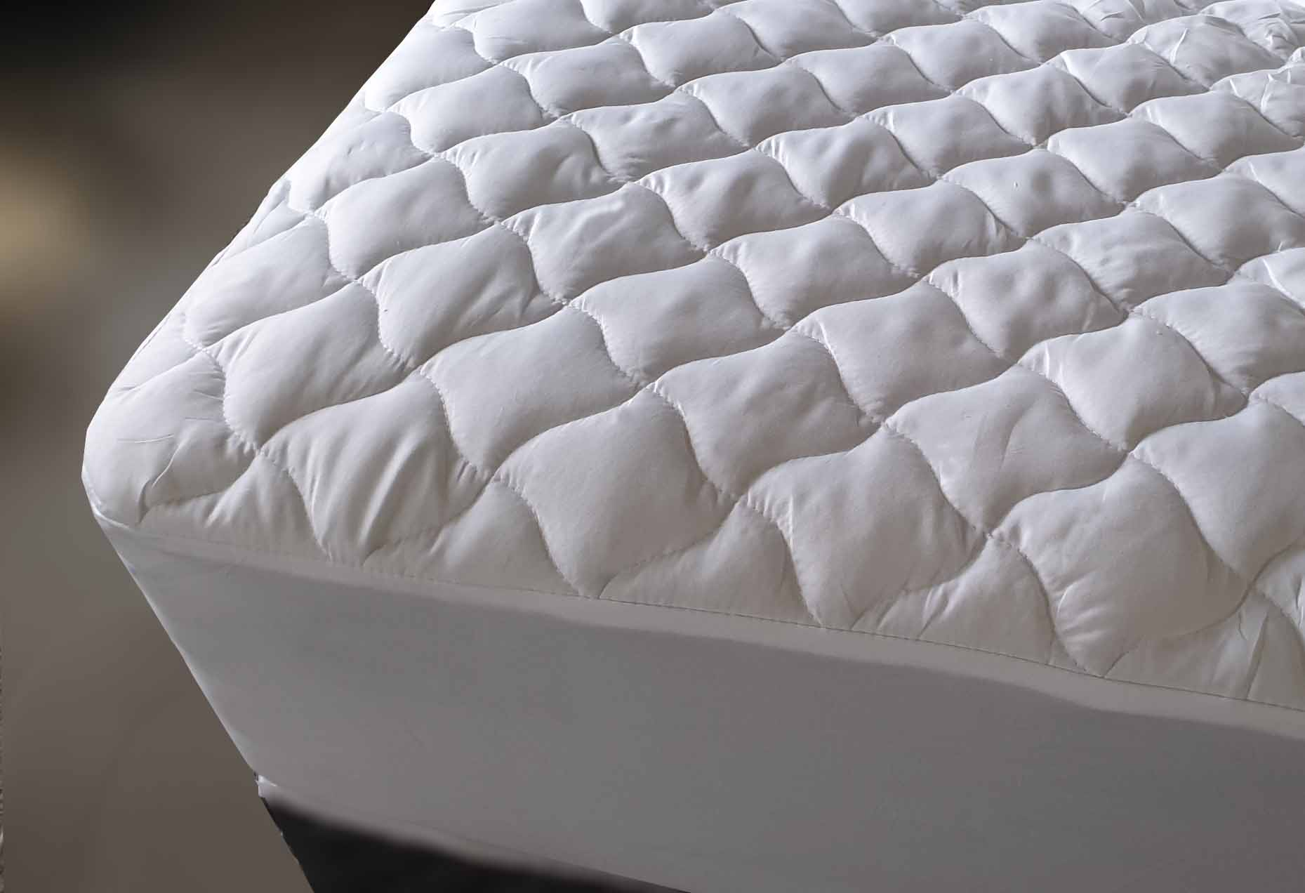 MATTRESS PROTECTOR PAD TOPPER puffy absorbent easy care
