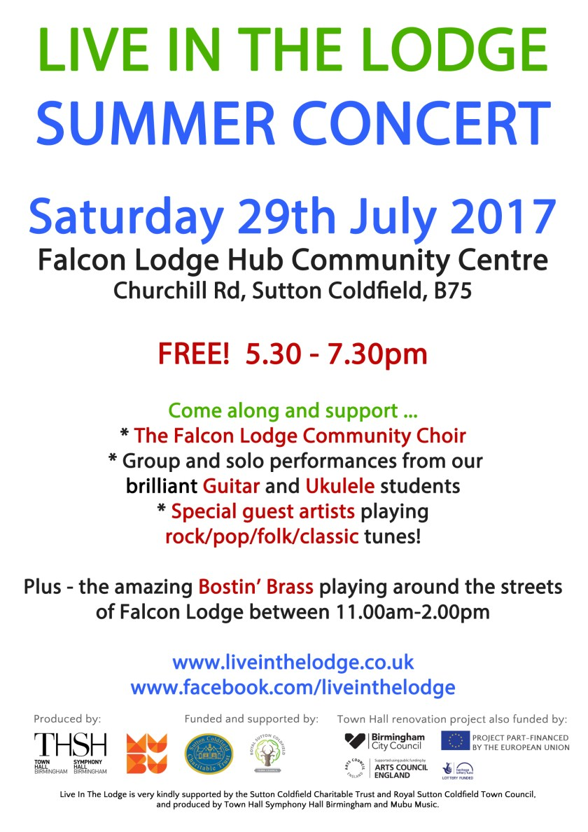 Live In The Lodge summer concert
