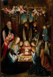 The_Adoration_of_the_Christ_Child_Follower_of_Jan_Joest_of_Kalkar down 2