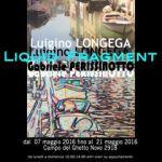 """""""LIQUID FRAGMENT"""" in mostra a Venezia"""