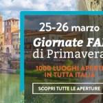 Giornate FAI in Veneto. Ecco l'elenco e cosa vedere a Primavera