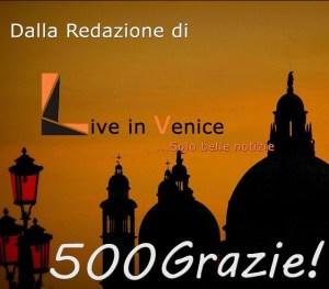 500 grazie liveinvenice
