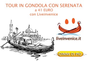 Tour in Gondola con serenata solo con Liveinvenice.it