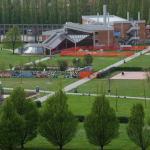 Parco Albanese. Si sistema il tetto della palestra e della piscina