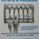 """Estate a Palazzo. L'arte """"comodamente seduti"""" per gli over 75"""
