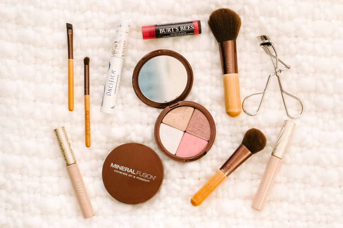 Everyday Makeup Using Natural Products