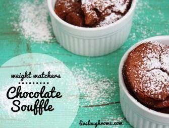 Weight Watcher Chocolate Souffle