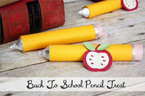 DIY Pencil Treat Lápiz caramelo