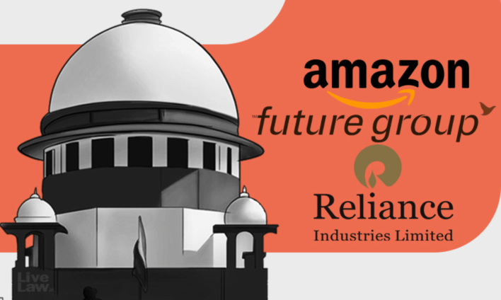 future retail's appeal against emergency award not maintainable, amazon argues in supreme court