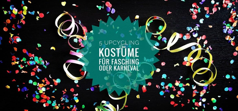 5 tolle upcycling kost me f r fasching karneval und fastnacht livelifegreen. Black Bedroom Furniture Sets. Home Design Ideas