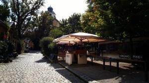 Öko-Biergarten am Muffatwerk in München