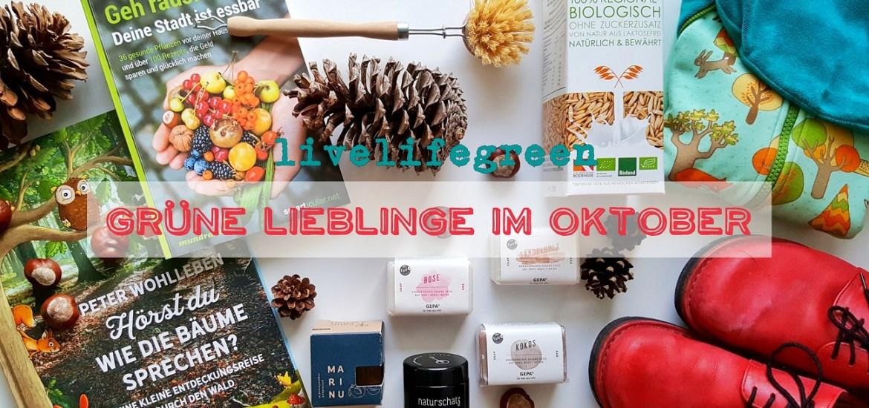 livelifegreen: Grüne Lieblinge im Oktober 2017