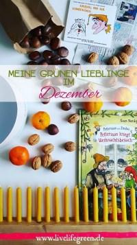 Pinterest-Pin: Grüne Lieblinge im Dezember 2017