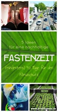 Pinterest-Pin: Nachhaltige Fastenzeit