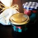 Plastikfrei to go Einmachglas als Geschenkverpackung