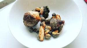 Baumperlen und Hexeneier reiche Beute
