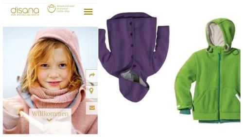 Faire und nachhaltige Winterjacken und Schneeanzüge für Kinder Disana