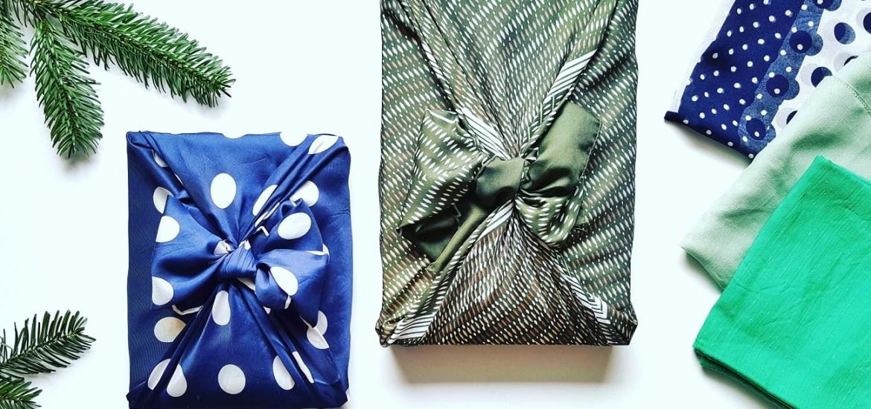 Furoshiki Zerowaste Geschenke verpacken ohne Müll
